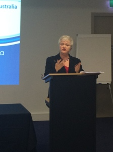 Margie O'Tarpey taked about her new role as CEO Early Childhood Intervention Australia (ECIA)