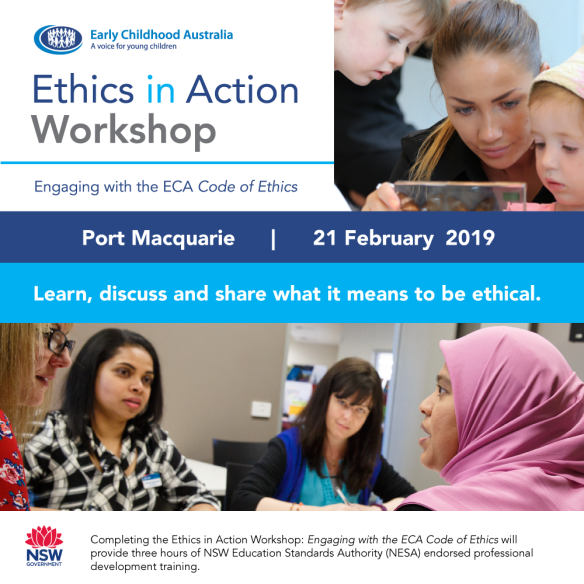 Port Macquarie COE workshop 21st February, 2019
