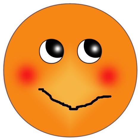 Blushing face